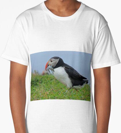 Peckish puffin Long T-Shirt