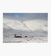 Glenshee cottage Photographic Print