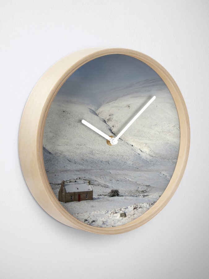 Alternate view of Glenshee cottage Clock