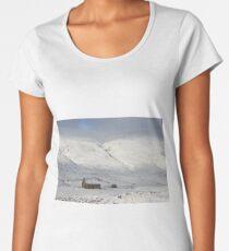Glenshee cottage Premium Scoop T-Shirt