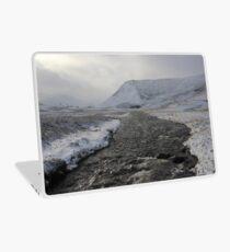 Winter river Laptop Skin