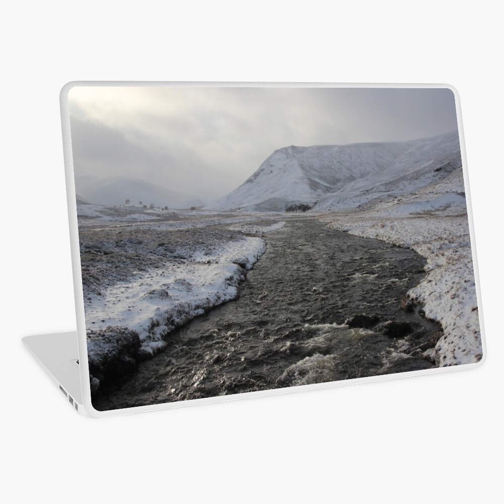 Winter river Laptop Skin