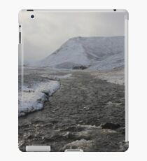 Winter river iPad Case/Skin