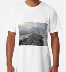 Winter river Long T-Shirt