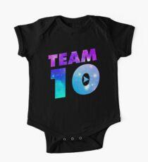 Team 10 Galaxy Logo Kids Clothes