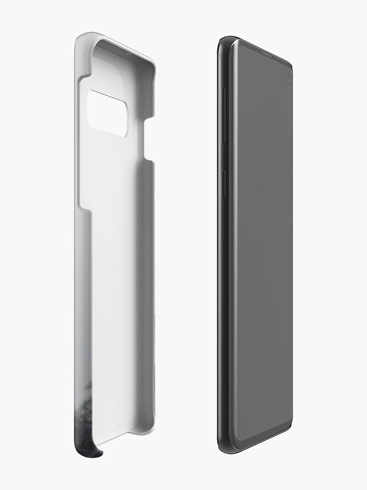 Alternate view of White Case & Skin for Samsung Galaxy