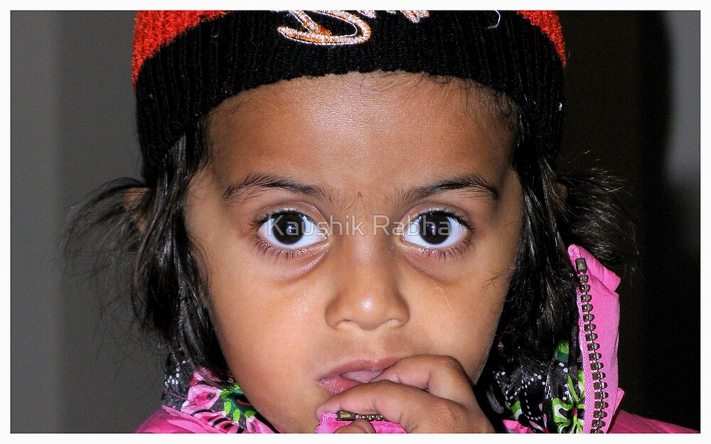 Innocent Eyes by Kaushik Rabha