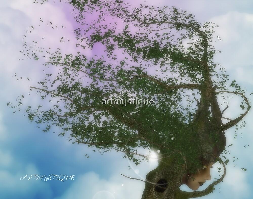 Tree Deity by artmystique