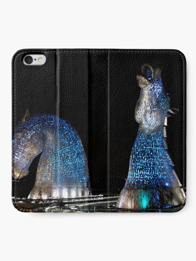 Alternate view of The Kelpies iPhone Wallet