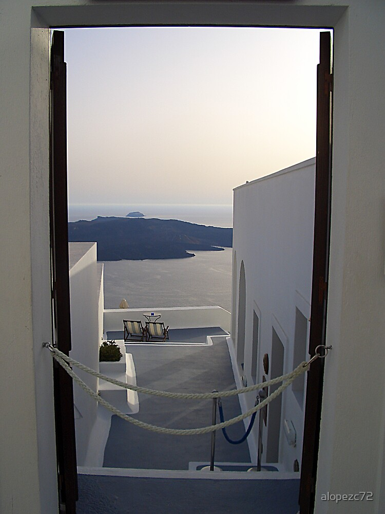 Santorini (IV) by alopezc72