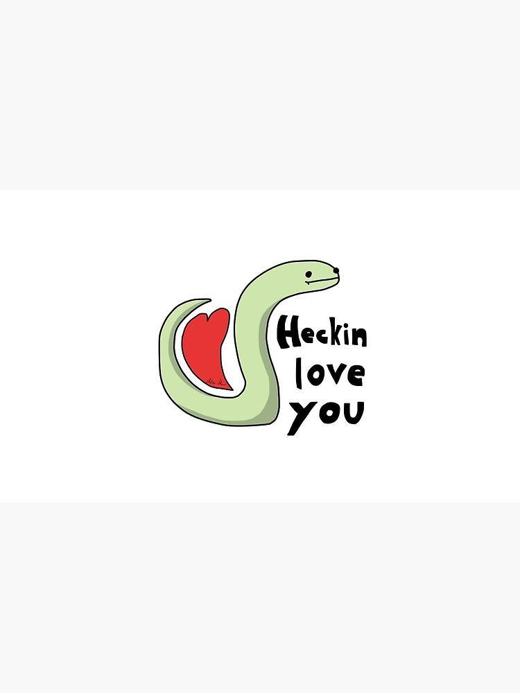 Heckin Love You - Kleine Snek Comics von acohen110