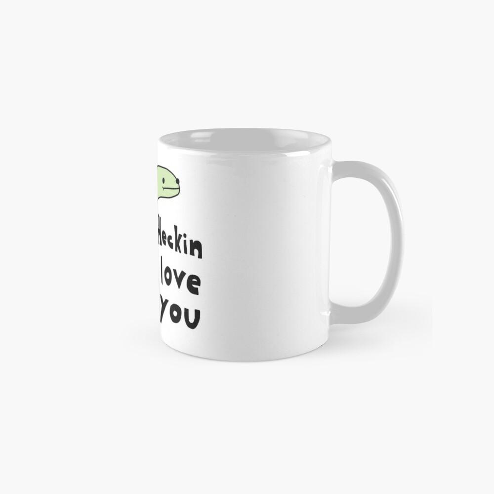 Heckin Love You - Kleine Snek Comics Tassen