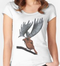 Moose-a-dee Women's Fitted Scoop T-Shirt