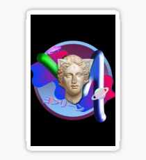 Vaporwave Logo  Sticker