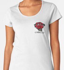 Cabello Rose Women's Premium T-Shirt