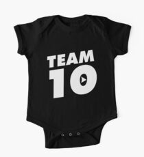 Team 10 Logo Kids Clothes