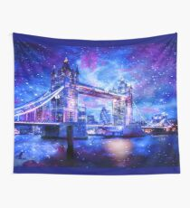 Lover's London Dreams Wall Tapestry