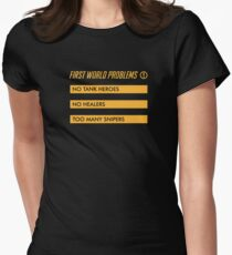 First World Problems Women's Fitted T-Shirt