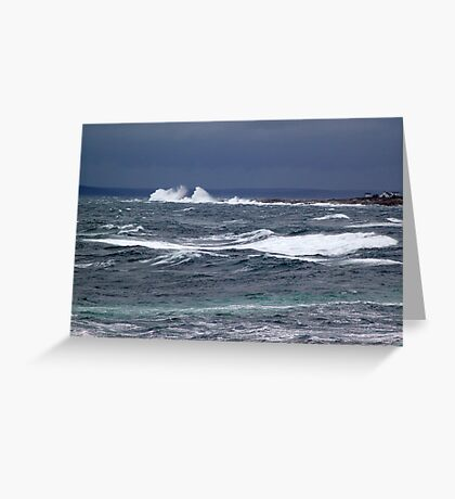 The Sea Shall Not Reach Them Greeting Card