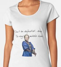 Defeatist  Women's Premium T-Shirt