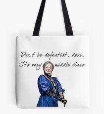 Defeatist  Tote Bag