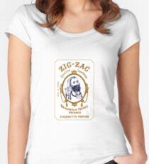 Zig Zag Women's Fitted Scoop T-Shirt
