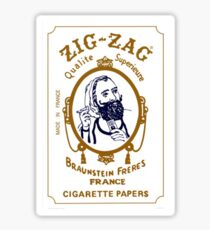 Zig Zag Sticker