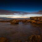 Dawn on Little Bay by Erik Schlogl