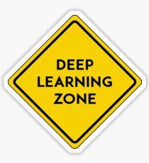 deep learning zone Sticker