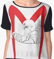 Go Speed Racer Go! Women's Chiffon Top