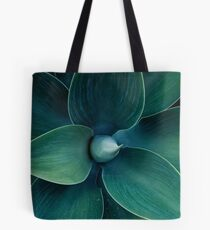 Floral green pattern Tote Bag