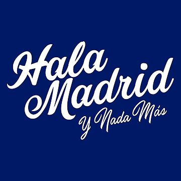 HALA MADRID by pvdesign