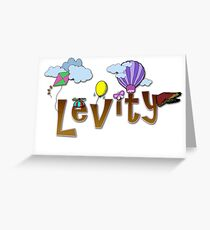Levity - Special-Tee Greeting Card