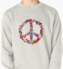 Peace Lover Photo Version Pullover Sweatshirt