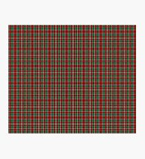 Campbell, New Louden Military Tartan  Photographic Print