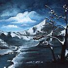 winter blue by J sora