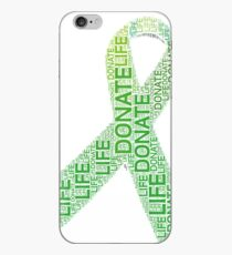 Donate Life Organ Donor Advocate Gift T-Shirt Organ Donation iPhone Case