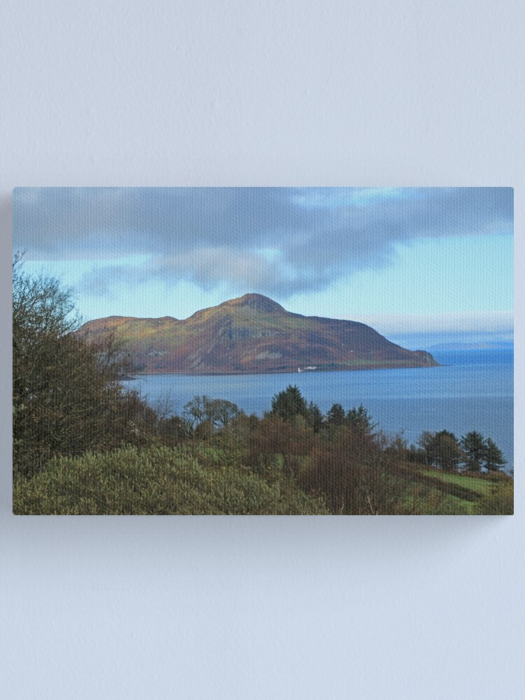 Alternate view of Holy Isle view Canvas Print
