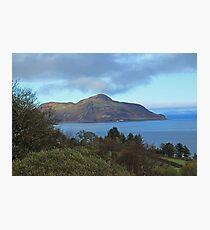 Holy Isle view Photographic Print
