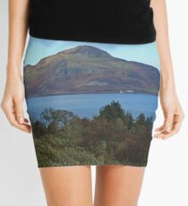 Holy Isle view Mini Skirt