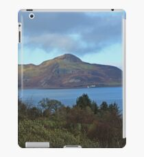 Holy Isle view iPad Case/Skin
