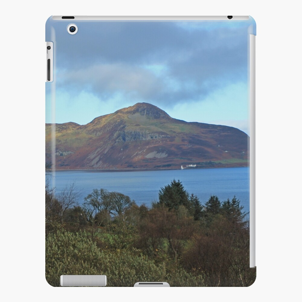 Holy Isle view iPad Case & Skin
