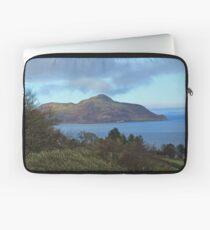 Holy Isle view Laptop Sleeve