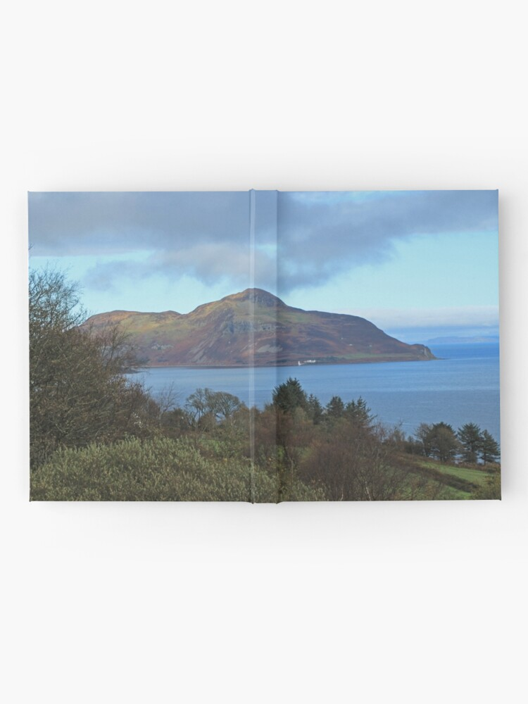 Alternate view of Holy Isle view Hardcover Journal