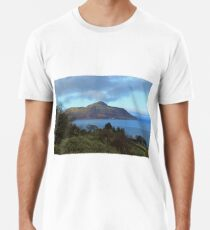 Holy Isle view Premium T-Shirt