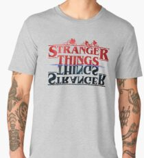 Stranger Things - The Upside Down Men's Premium T-Shirt