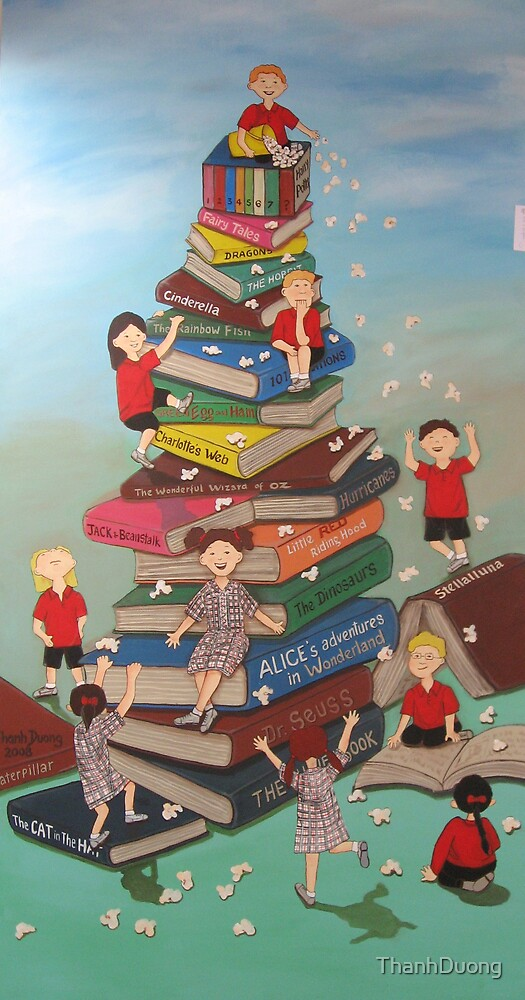 Langwarrin Primary School Mural Painting by Thanh Duong
