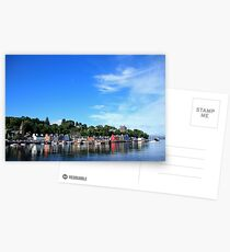Blue Sky in Balamory Postcards