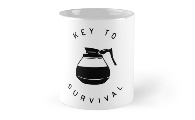 Coffee is the Key to Survival by brandoff