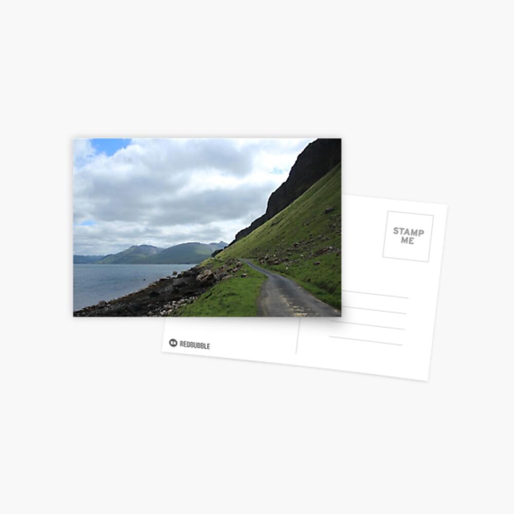 Island road Postcard